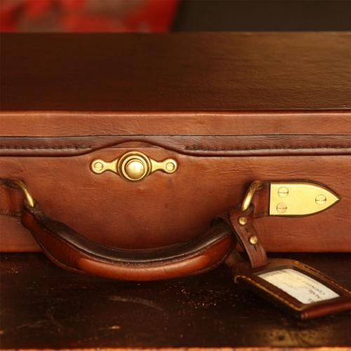 The Matjiefontein Oak & Leather Gun Case