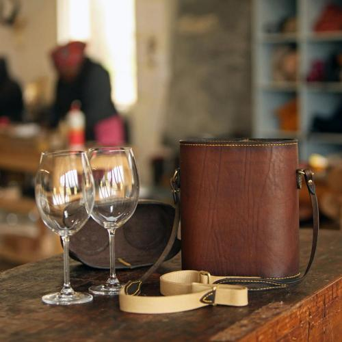 wine, glass, carrier, portable, gift