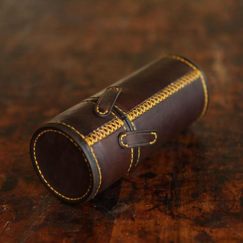 leather glasses case, leather, case