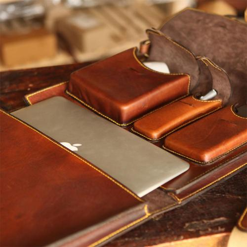 JHB LEATHER BRIEFCASE
