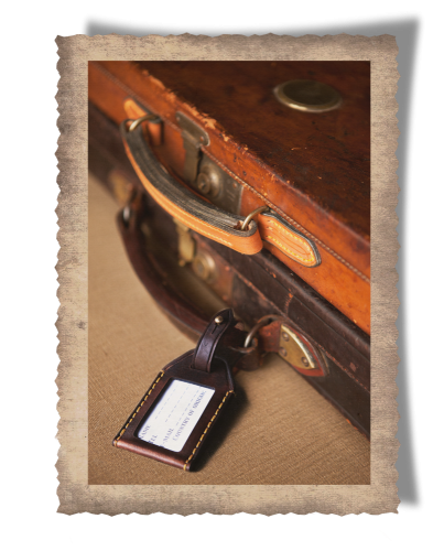 The Matjiesfontein Gun Case & Luggage Tag