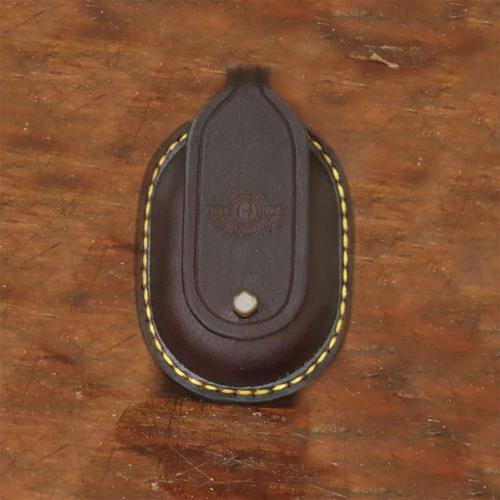 leather keyring, coin holder, handcrafted, keyring