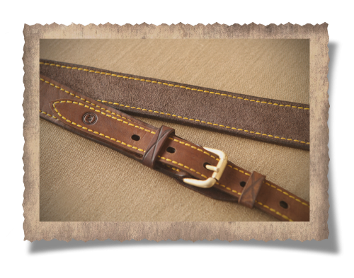 The Wilderness Leather Rifle Sling