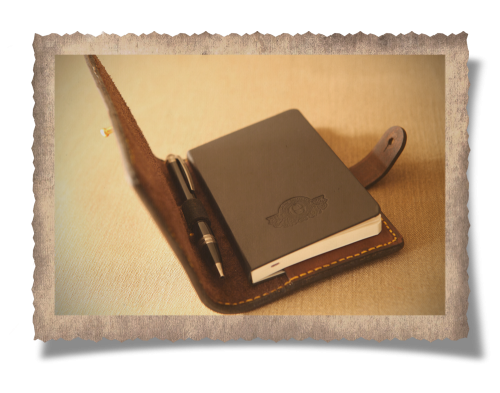 moleskine notebook, leather case, journal, leather pouch