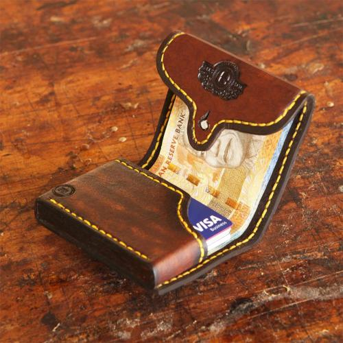 mini wallet, leather wallet, money, cards, leather, logo, customised embossing
