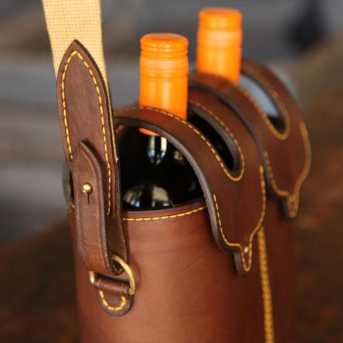 wine, carrier, leather, stellenbosch, els, els & co