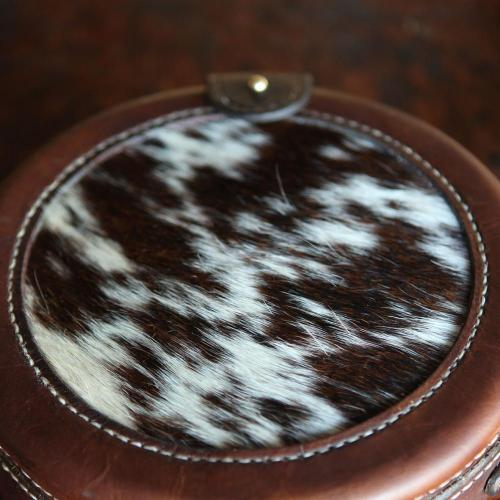 Nguni, leather, handbag, clutch, Els & Co